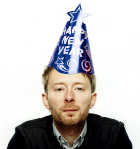 Radiohead's Thom Yorke wishes you a happy holidays. Photo courtesy of www.idioteque.com